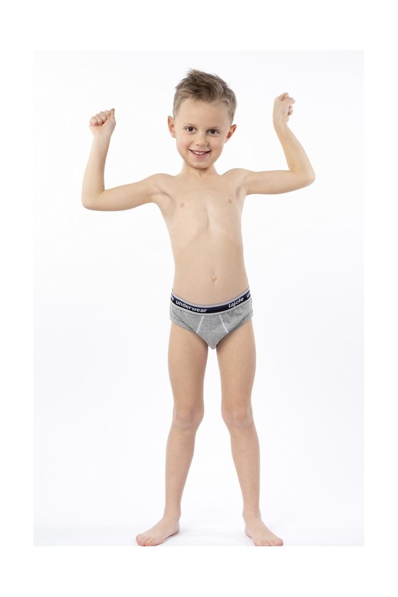 Slip bambino elastico esterno cotone bielastico modal