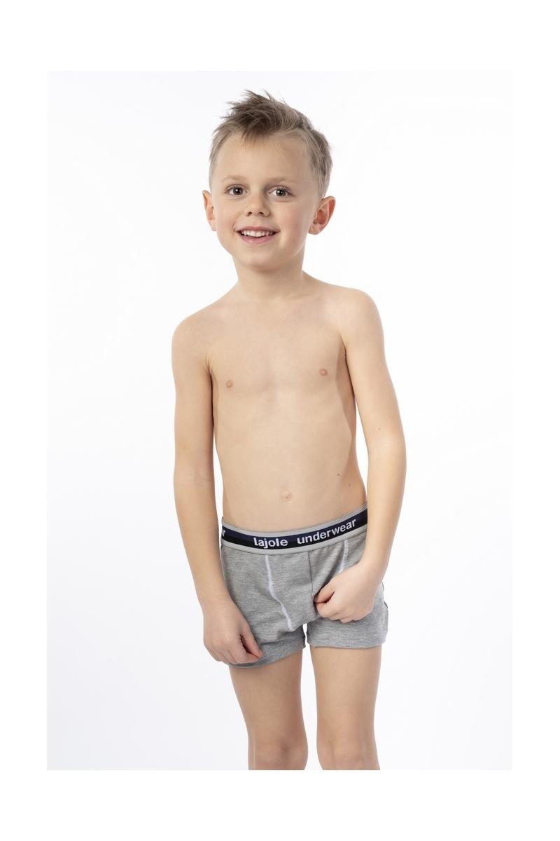 Boxer bambino elastico esterno cotone bielastico modal