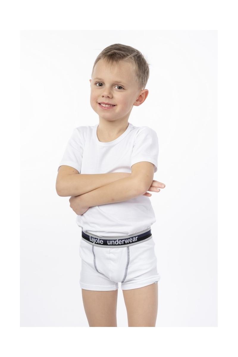 Maglia bambino maniche corte morbido cotone modal